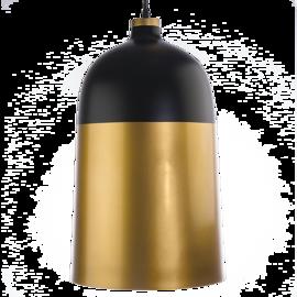 Lampa wisząca DELHI Czarno-złota